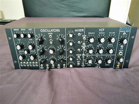 Analog Reverb Rack by Studio Electronics Midimini 1989 Black Quot Vintage Rack Analog Reverb