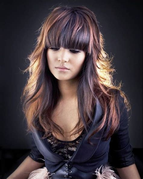 hair that comes to a point in the back 40 hair color ideas that are perfectly on point