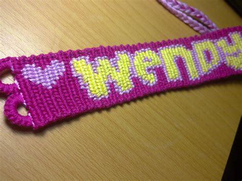 name friendship bracelet custom macrame style no 1