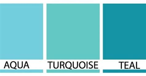 what s the difference between color and colour turquoise cyan and teal difference search