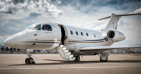 fourth embraer legacy  joins canadas airsprint fleet