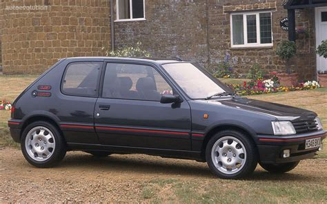 peugeot 205 gti 1992 peugeot 205 gti 1 9 related infomation specifications