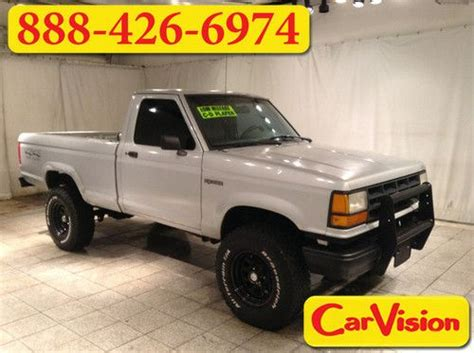 manual cars for sale 1991 ford ranger spare parts catalogs buy new 1991 ford ranger reg cab v6 bfgoodrich all terrain t a tires 5 speed manual in