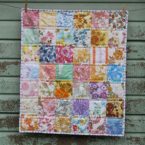 Patchwork Quilt Wadding - 1000 images about made from vintage sheets on