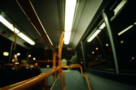on the night bus night bus