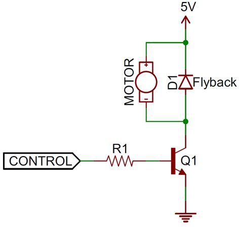 when is a flyback diode needed diodes learn sparkfun