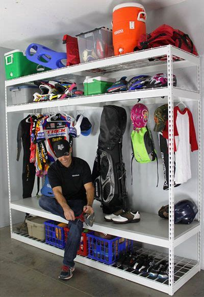 Garage Sports Storage Ideas 25 Best Sports Equipment Ideas On Sports