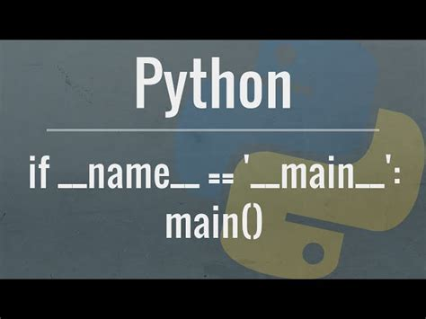 Python Tutorial Main | python tutorial if name main mp3downloadonline com
