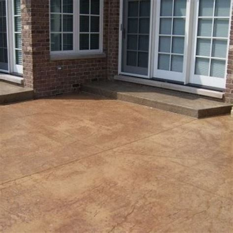 17 best images about stained concrete patio on