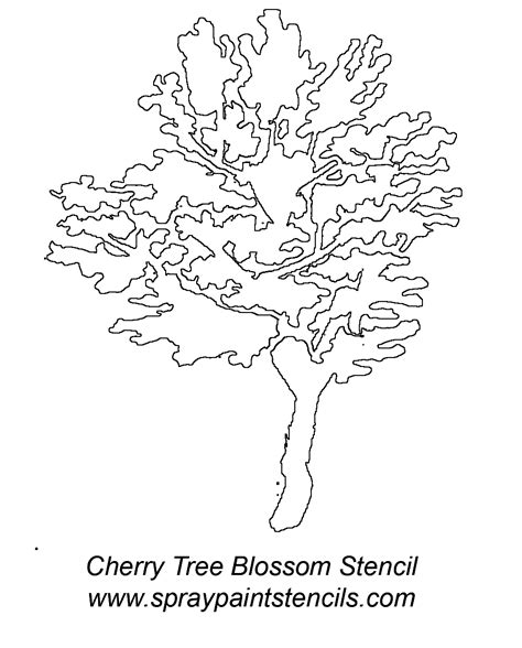 printable stencils tree yahoo