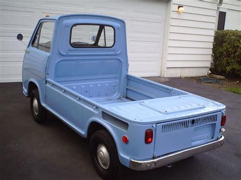 subaru 360 pickup photos of a nice blue 1969 subaru 360 truck