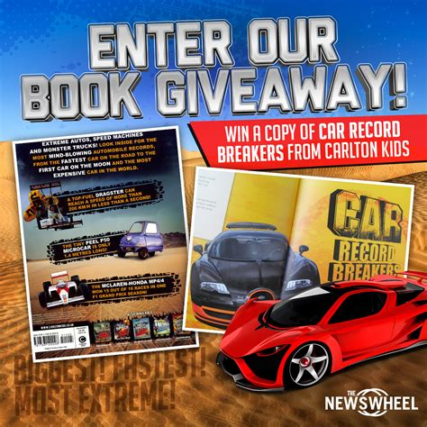 Win Our Giveaway by Enter Our Book Giveaway Win A Copy Of Car Record