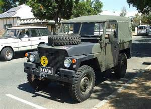 landrover wheel base army style