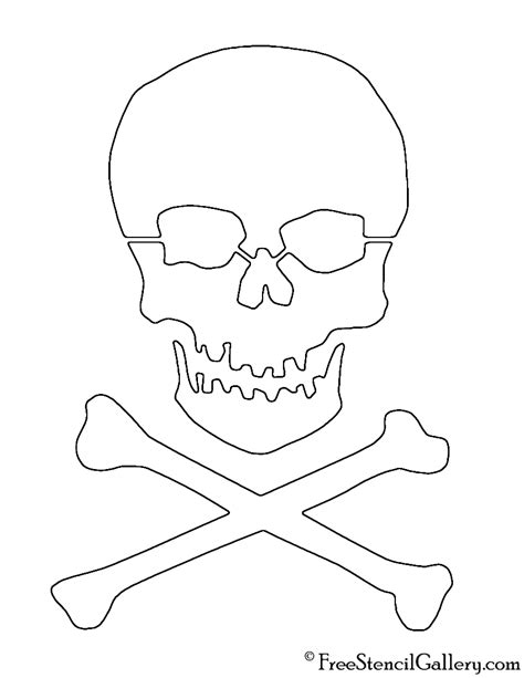printable skull stencil www imgkid com the image kid