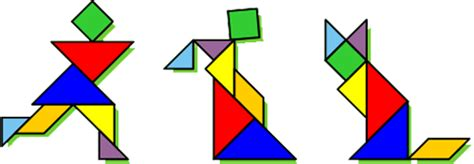 Printable Tangram Fraction Fun With Tangrams