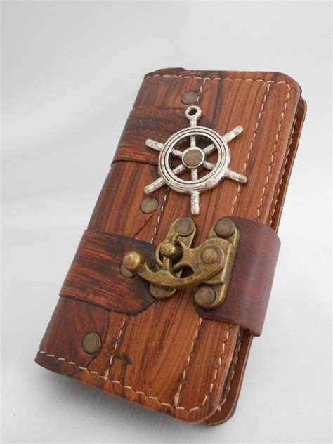 Handmade Leather Iphone - handmade leather iphone 5 5s leather iphone by