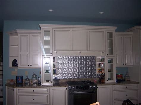 light blue kitchen ideas kitchen angelic blue backsplash decoration tile behind