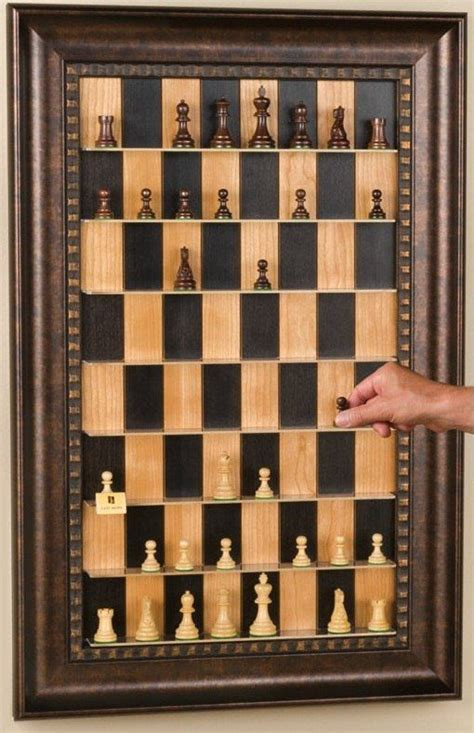 vertical wall mounted chessboard christmas