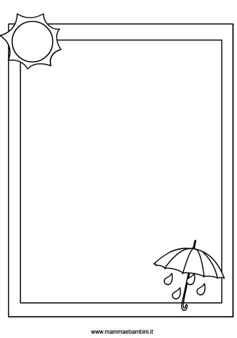 disegni di cornici per bambini disegni cornici da colorare mamma e bambini