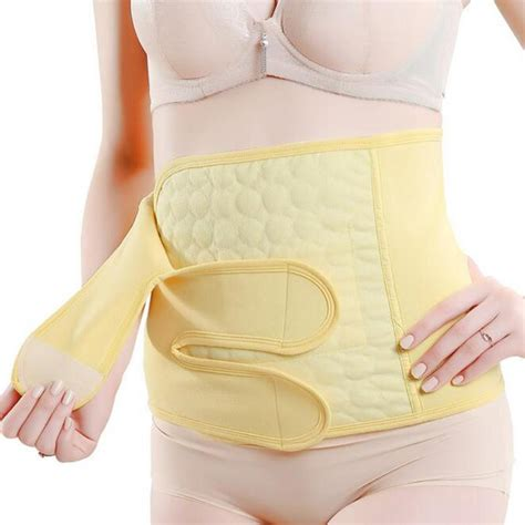 wearing belly band after c section postpartum recovery c section tummy belt abdomen girdle