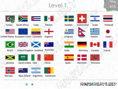 flags of the world quiz level 2 todas las respuestas para logo quiz flag sudescarga
