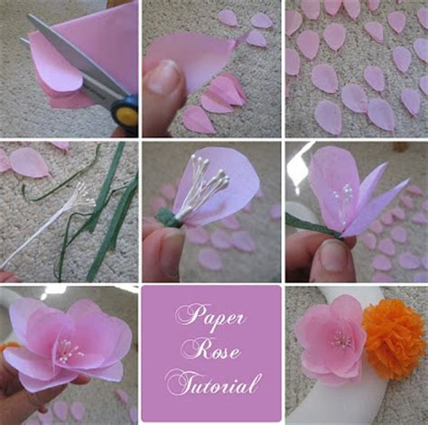 Steps For Paper Flowers - diy or don t tutorial tissue paper flowers