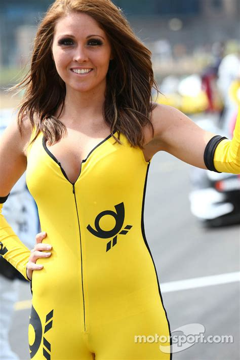 Grid Girl at Brands Hatch