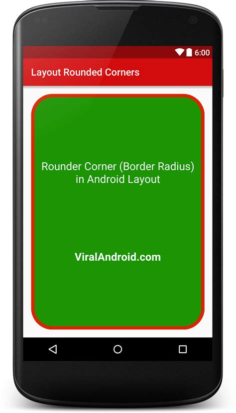 android layout corner radius make rounded corners in android layout viral android