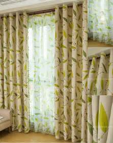 Curtains With Green Leaf In Lime Green Curtains Living Room Curtains