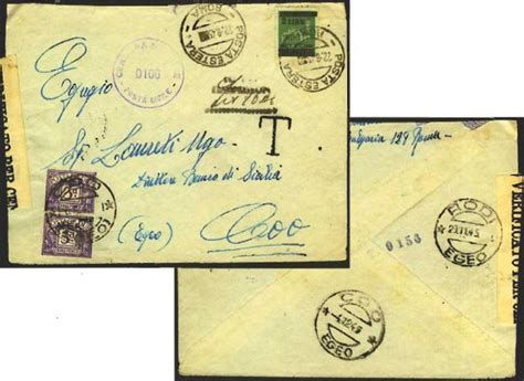 ufficio postale cinecittà 2 le isole italiane dell egeo