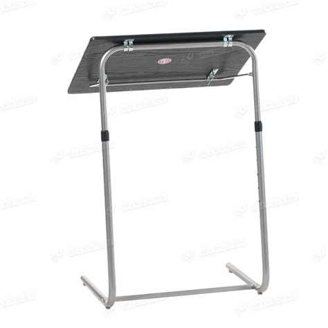portable folding tray table foldable adjustable tv dinner laptop tray bed mate folding