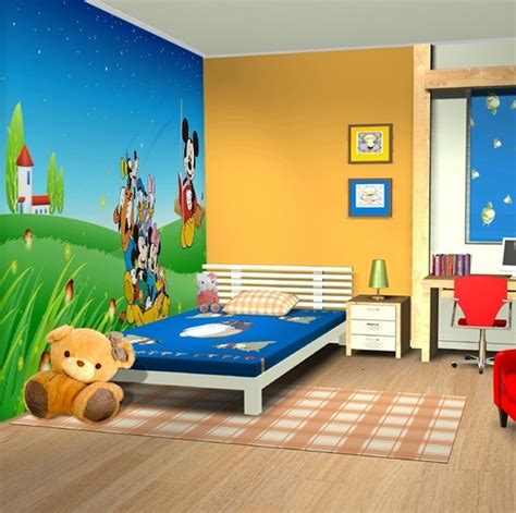 cartoon bedroom wallpaper cartoon bedroom decoration how to start building