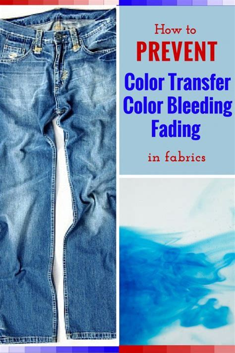 how to remove color from fabric how to prevent fabric color transfer bleeding and fading