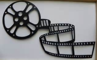 movie reel metal wall art home theater decor by sayitallonthewall