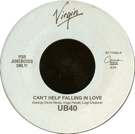 dramanice can t help falling in love ub40 can t help falling in love vinyl at discogs