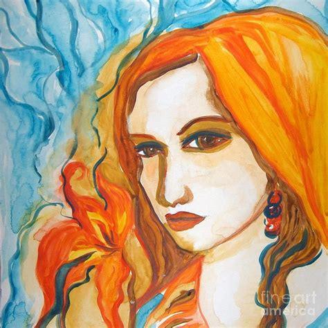 art dinca beauty painting by farfallina art gabriela dinca