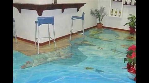 pool badezimmerideen 3 d boden doberstein