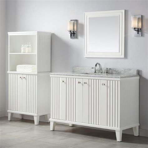 martha stewart bathroom cabinets these bath vanities deliver on storage and style martha