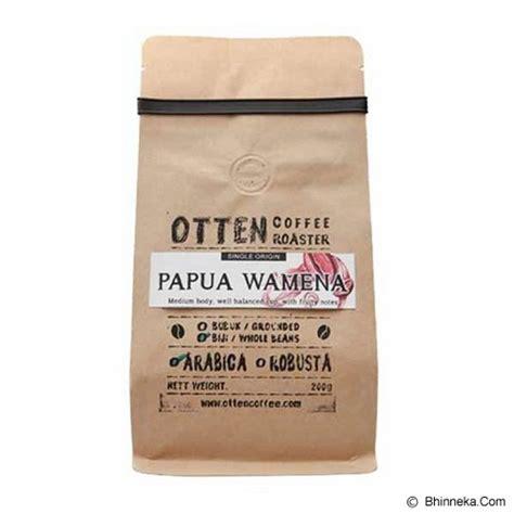 Kopi Otten jual otten coffee kopi bubuk arabica papua 200gr murah