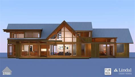 lindal cedar home plans bold modern turkel design lindals lindal cedar homes