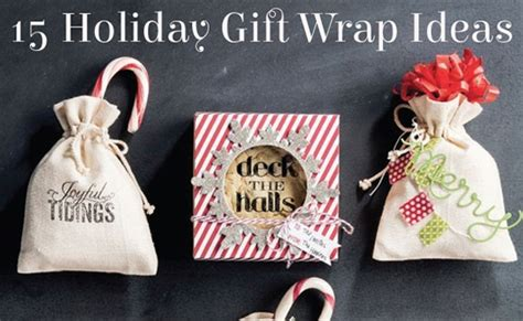 15 awesome holiday gift wrap ideas pretty my party