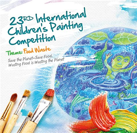 painting competition 23rd international children s painting competition tunza
