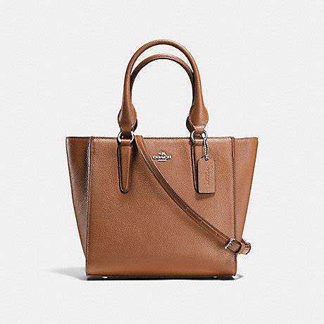 Coach Carryall Pabble Leather 25 crosby carryall 24 in pebble leather f37415 silver