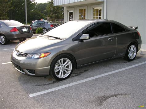 grey honda civic 2006 sparkle gray pearl honda civic si coupe 41344 photo