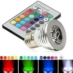 different color lights magic lighting led light bulb and remote with 16 different