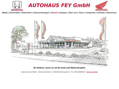 Motorradverleih Bremen by Autohaus Fey Gmbh In Bad Kreuznach Motorradh 228 Ndler