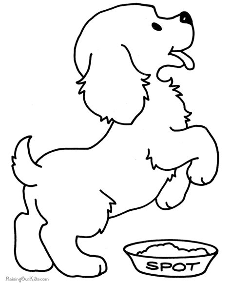 pictures of dogs to color pictures to color of puppies 2569415