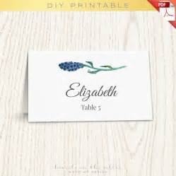 Place Name Cards Template by Floral Wedding Placecard Template Printable Cards