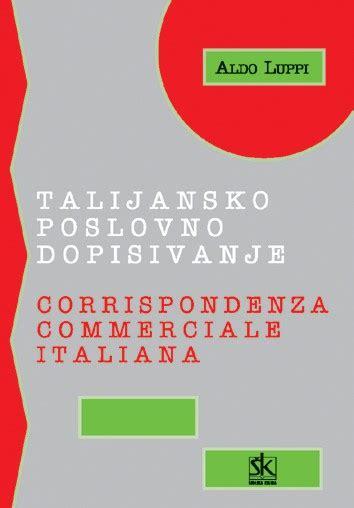 commerciale italiana talijansko poslovno dopisivanje corrispondenza