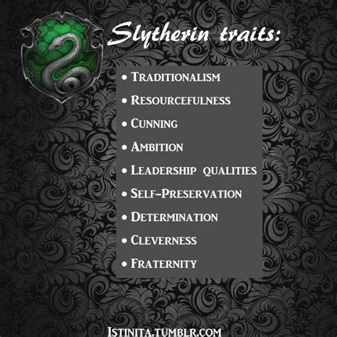 slytherin house traits 25 best ideas about slytherin traits on pinterest hogwarts house traits slytherin